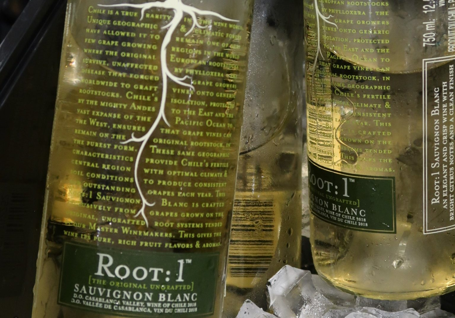 Univins & Spirits Root: 1 Sauvignon Blanc 2018 Burlington Wine Club tasting May 2019